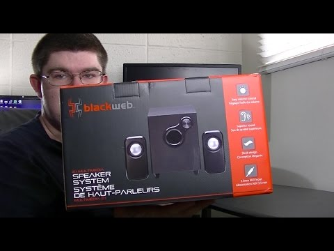 Blackweb 2 1 Multimedia Speaker System REVIEW