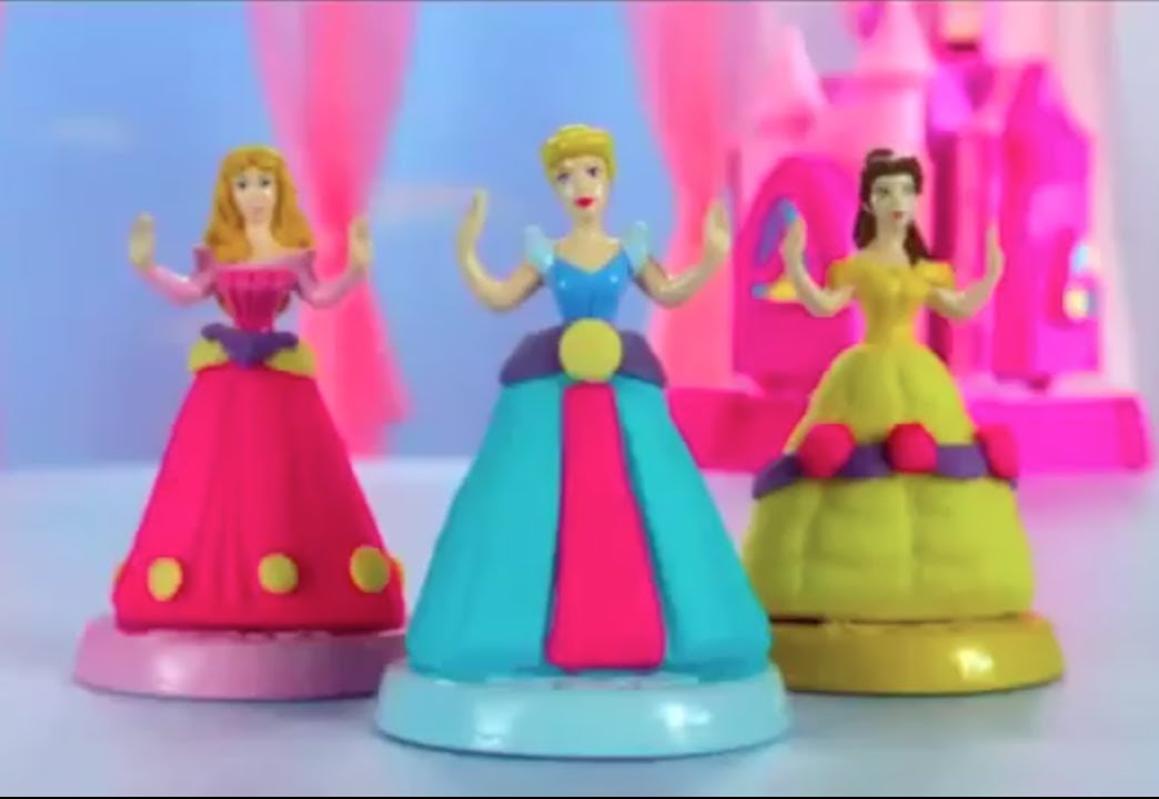 Disney Princesses Play Doh Beautiful Princess Castle Commercial