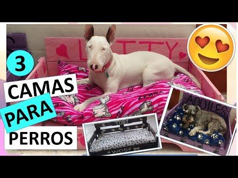 Make a dog bed out of pallet wood funnydog tv - Como hacer camitas para perros ...