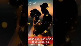 Tumhe koi aur dekhe to jalta hai dil female whatsapp status 🌹