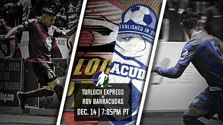 Turlock Express vs RGV Barracudas