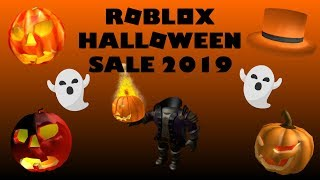 ROBLOX Halloween Sale 2019!