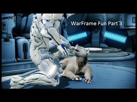 WarFrame Part 3 (Learning About Our New Pets)