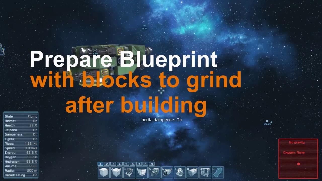 Space Engineers Building Blueprints