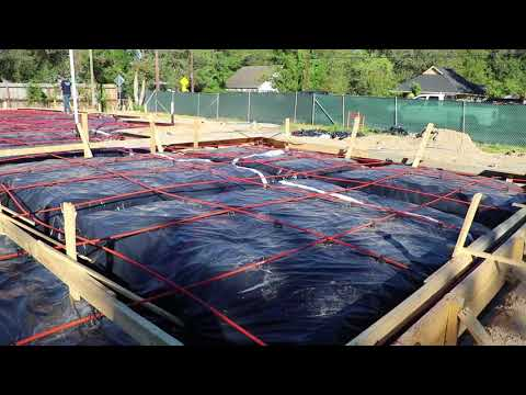 Building a New Home: Post Tension Cable Foundation – Mondays with Mike