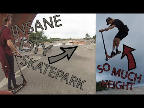 CRAZY DIY SKATEPARK UNDER BRIDGE! *Stockport DIY*