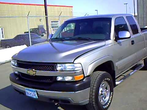 2001 chevrolet silverado 2500 hd ext cab 4x4 youtube. Black Bedroom Furniture Sets. Home Design Ideas