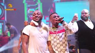 WIZKID AND DAVIDO'S  PERFORMANCE AT DAVIDO'S 30 BILLION CONCERT
