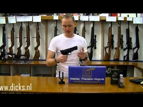 Webley Tempest 4,5mm Luchtdrukpistool