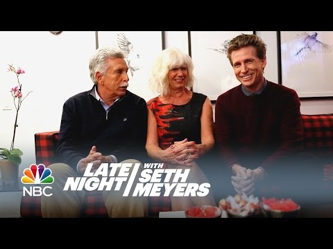 Seth's Family Answers Questions About Seth  Late Night with Seth Meyers