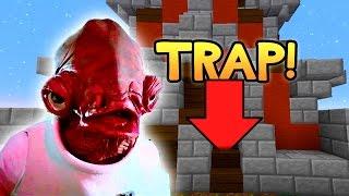 minecraft micro battles it s a trap w preston lachlan and rob