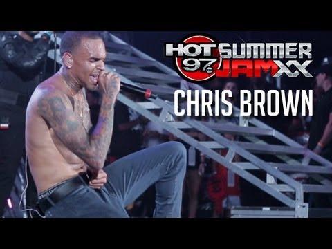 Chris Brown performs Live