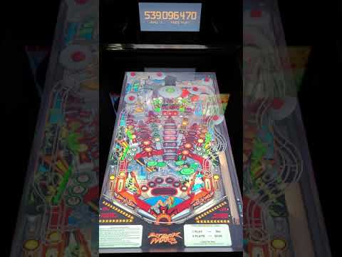 Arcade1up Pinball Attack From Mars Gameplay from Kevin F