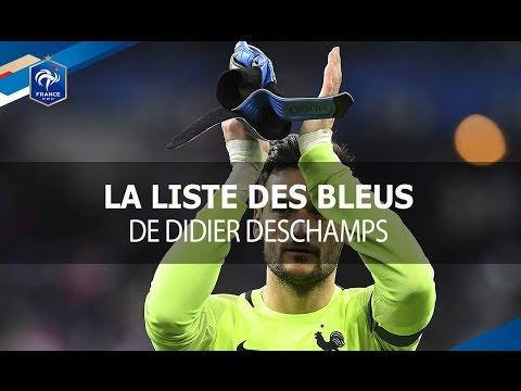 La liste des joueurs pour France-Paraguay, Suède-France et France-Angleterre