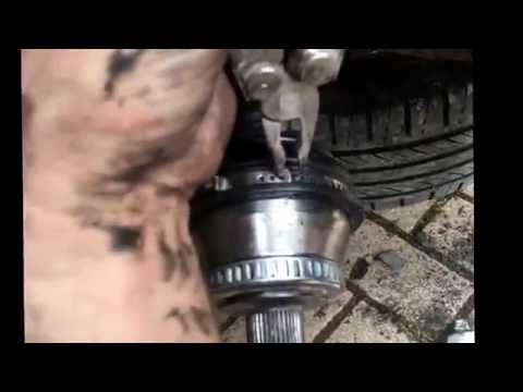 How to Replace CV joint on VW Passat 1.9 tdi 130 PD