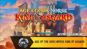 Age of the Gods Norse King of Asgard slot by Ash Gaming