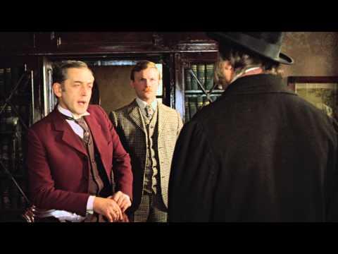 Шерлок Холмс, док Ватсон и собака Баскервилей
