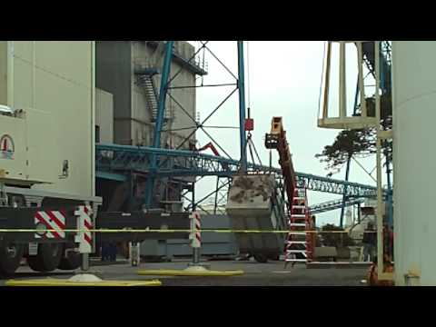 crane lift dust collector