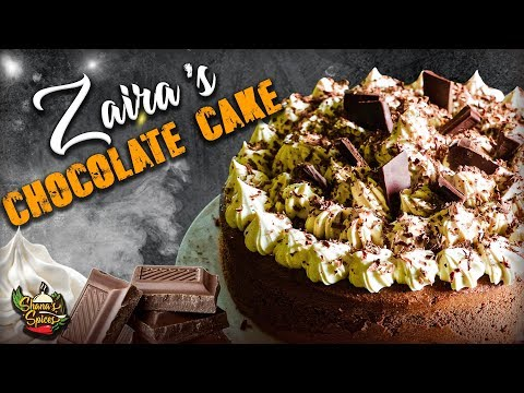 Zaira's Chocolate Cake | Shanas Spices