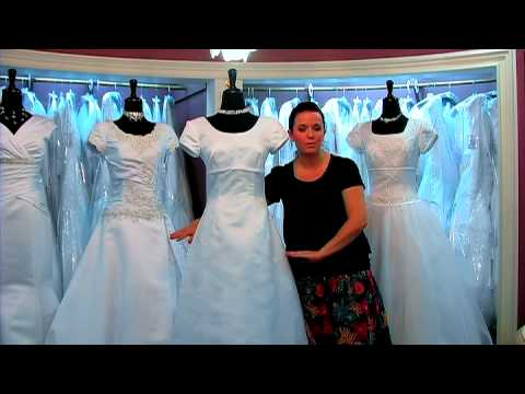 Wedding Dresses : Princess Cut Wedding Dress Shapes - YouTube
