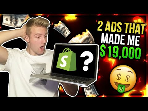 2 Drop Shipping Ads That Made Me $19,000 (REVEALED)