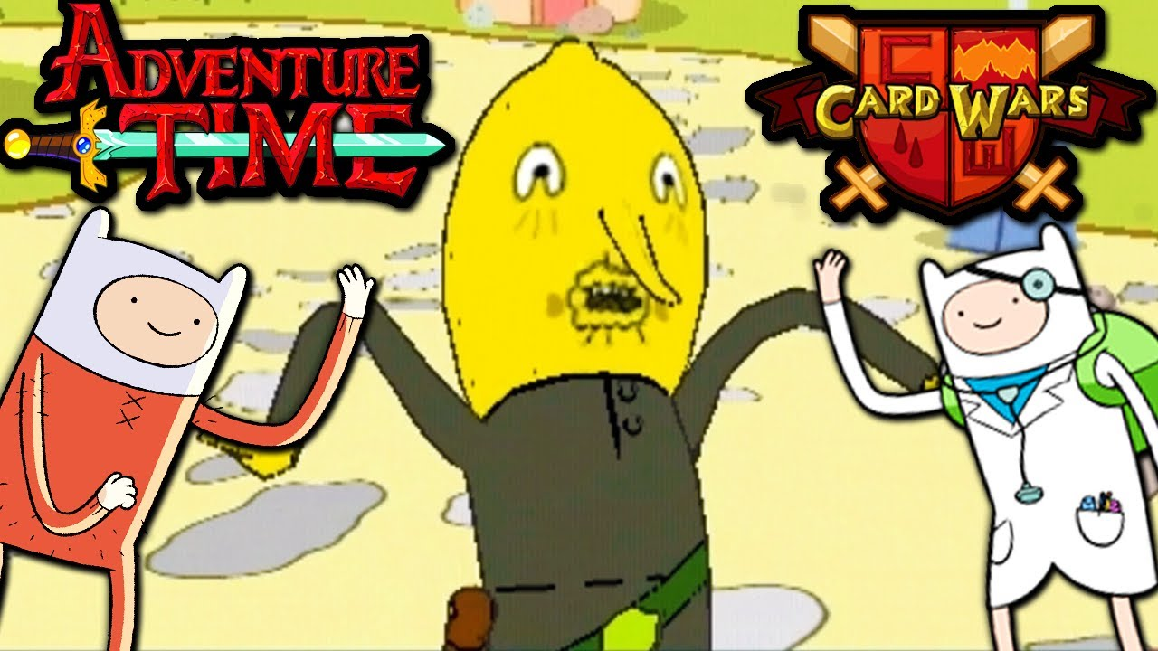 Adventure Time Card Wars Hack - video dailymotion