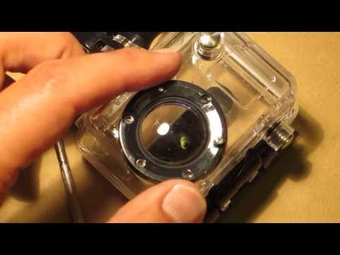 GoPro Hero 2 modification for in-focus underwater videos and pictures