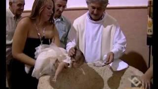 Bautizo en la Iglesia Ossa de Montiel, Bautizo de  Nuria. -DVD Bautizo Nuria-.flv