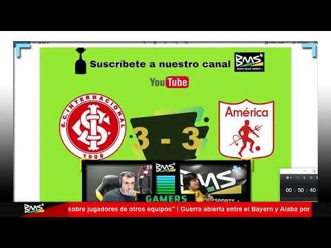 COPA LIBERTADORES EN VIVO | Internacional de Porto Alegre vs  América de Cali | BMS+ RADIO