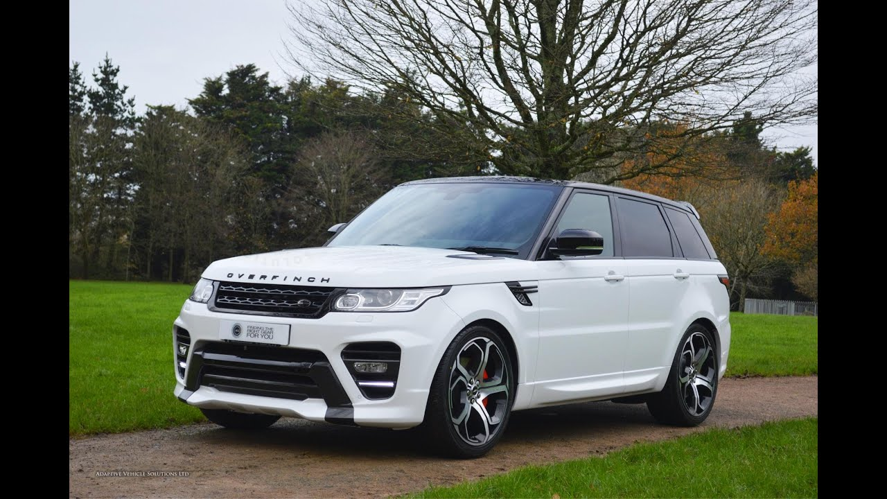 The ALL NEW Range Rover Sport with Overfinch Exterior Styling