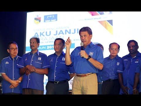 Negri Sembilan's BN Manifesto focuses on state development, people's welfare