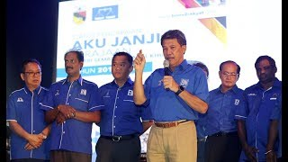 Negri Sembilan's BN Manifesto focuses on state development, people's welfare