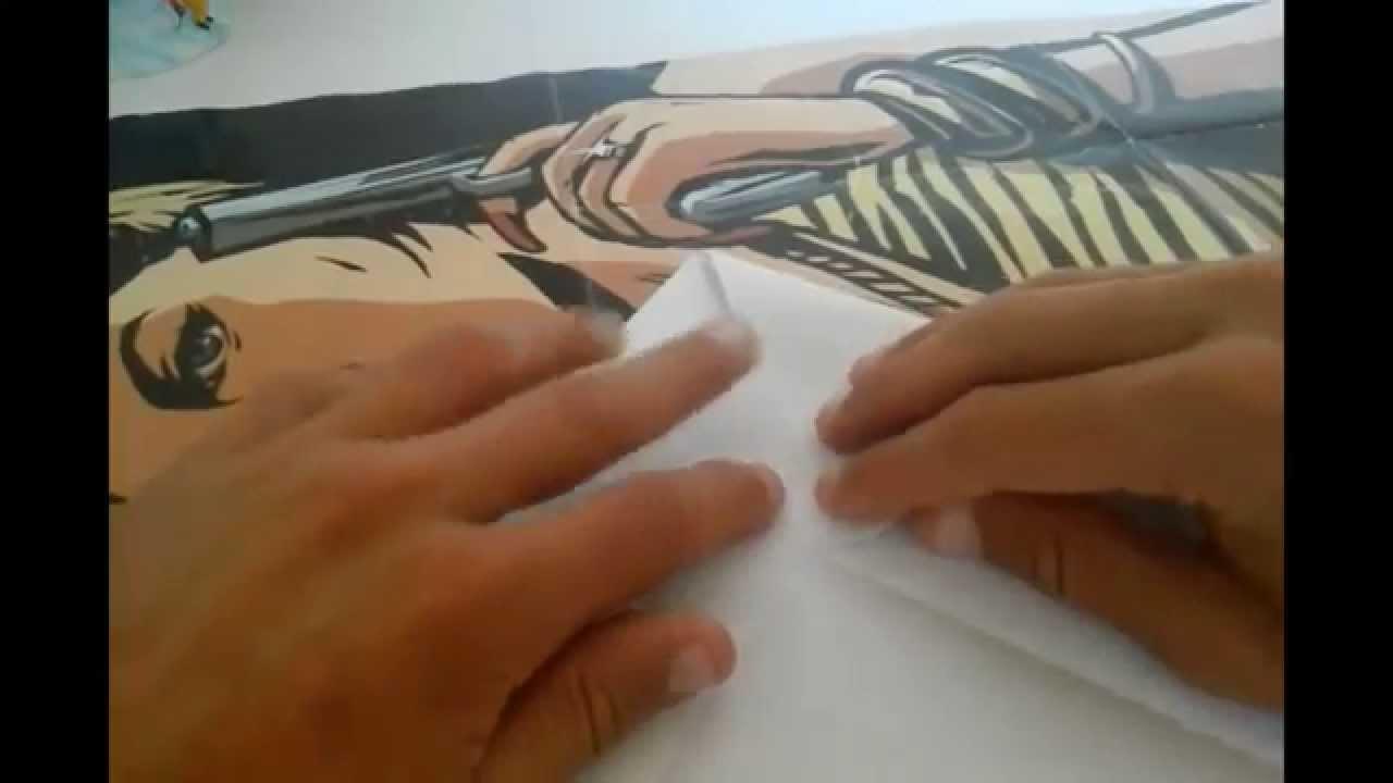 tuto comment fabriquer un bateau en papier youtube. Black Bedroom Furniture Sets. Home Design Ideas