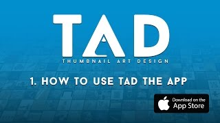 TAD (The Album Art App) - How To Use TAD the App