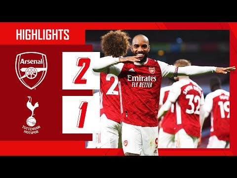 HIGHLIGHTS | Arsenal vs Tottenham Hotspur (2-1) | Premier League | Odegaard, Lacazette