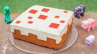 Rezept: Minecraft Kuchen für den Kindergeburtstag