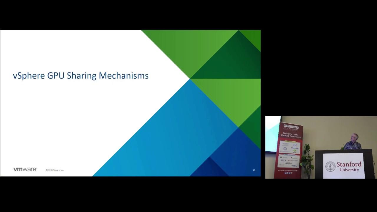Accelerating & Optimizing Machine Learning on VMware vSphere leveraging  NVIDIA GPUs