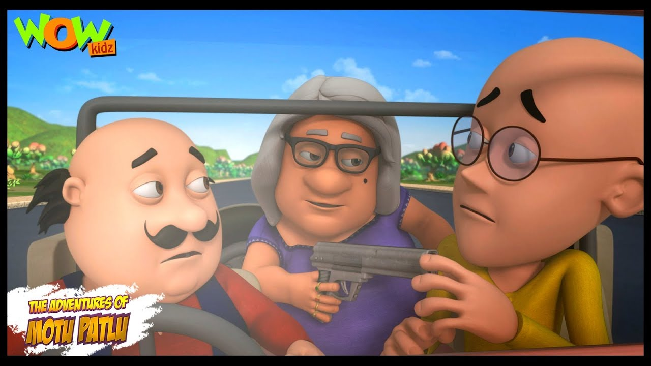Download Motu Patlu Cartoons In Hindi    Animated cartoon   John ek behrupiya chor   Wow Kidz