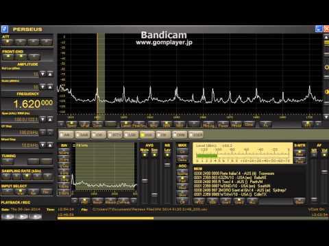 1620 kHz WTAW (TX) Jan 30, 2014