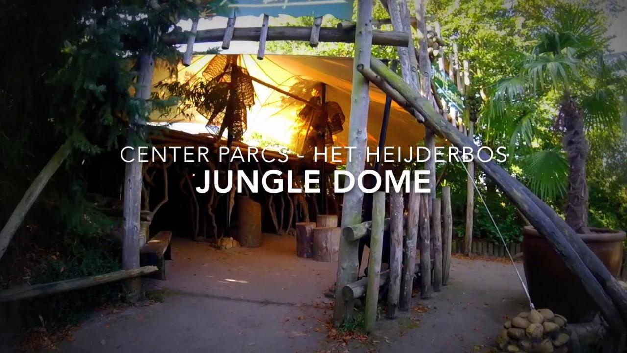 Center Parcs Het Heijderbos Jungle Dome Youtube