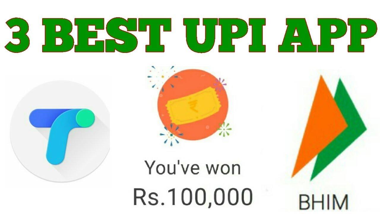 3 Best Upi App For Money Transfer & Get Cashback Offers Google Tej,  PhonePe, BHIM Upi App