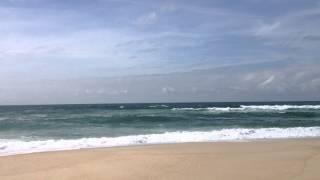 Атлантический океан. Пляж. Португалия.