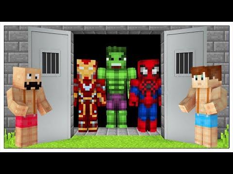LIBERIAMO I SUPEREROI DALLA PRIGIONE! - Minecraft ITA thumbnail