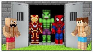 LIBERIAMO I SUPEREROI DALLA PRIGIONE! - Minecraft ITA