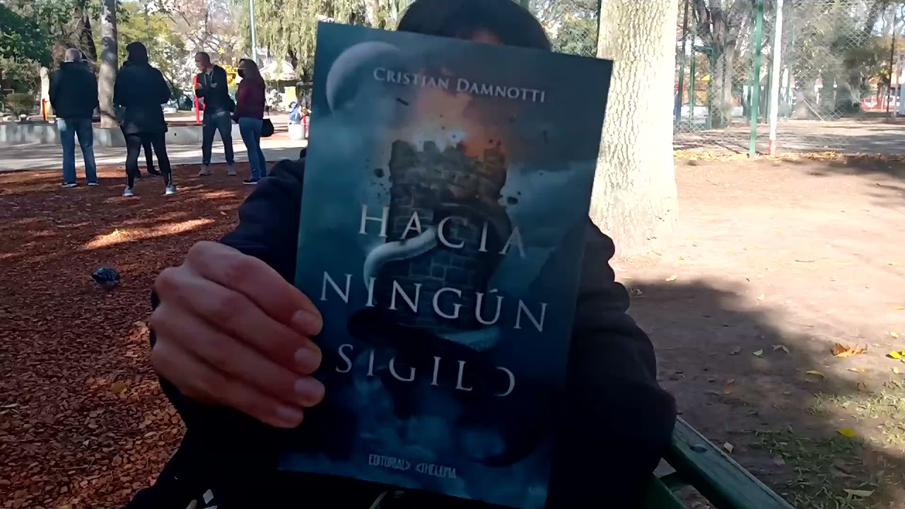 "Conociendo a Cristian Damnotti, autor de ""HACIA NINGÚN SIGILO"""