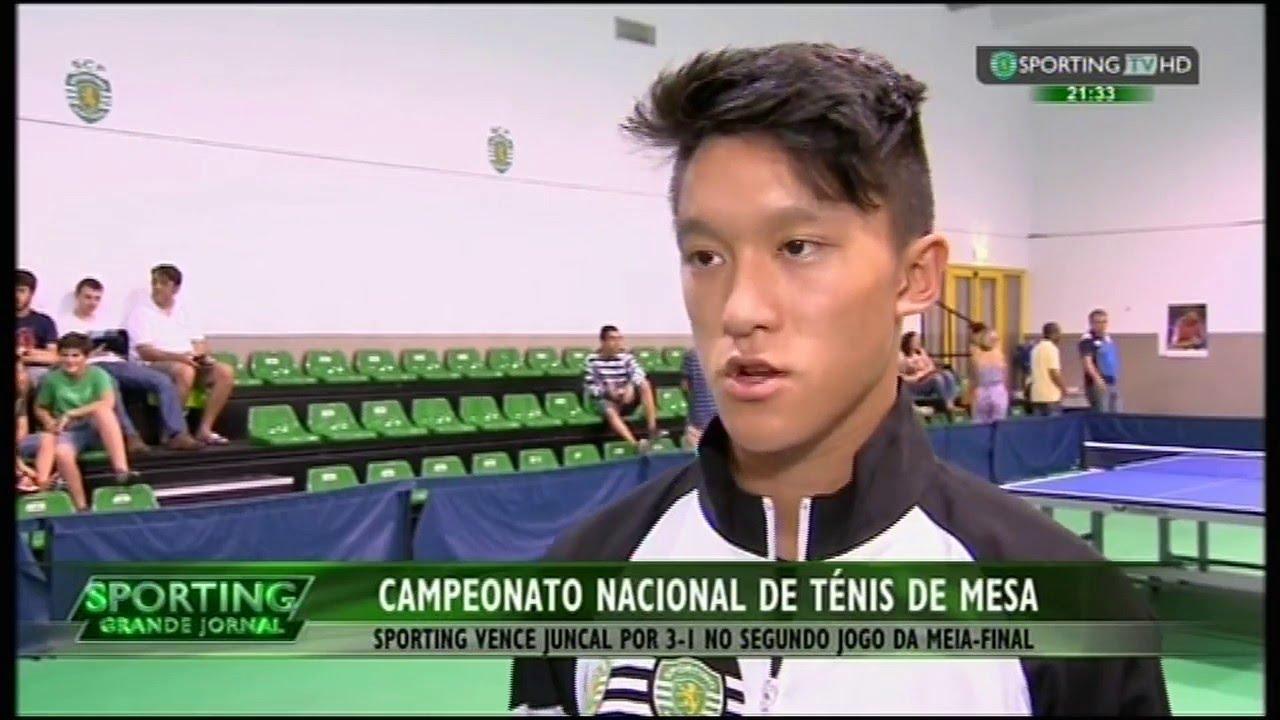 Tenis de Mesa :: 1/2 Final Playoff - 2jogo :: Sporting - 3 x Juncal - 1 de 2014/2015