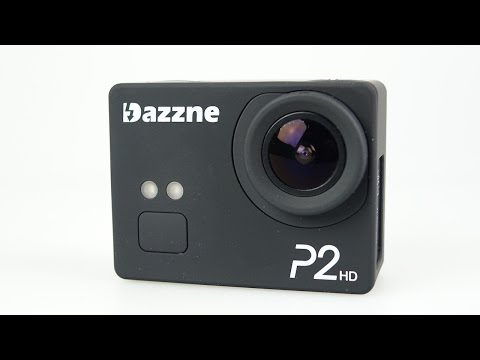 Dazzne P2 Action Camera Full REVIEW with sample clips
