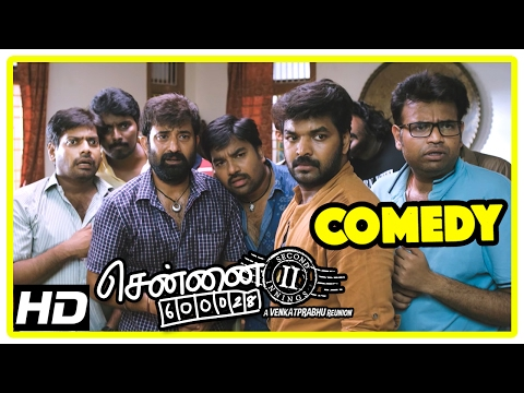 Chennai 600028 II Movie | Comedy Part 2 | Shiva | Jai | Ajay