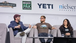 Three Weavers, Melvin and Fort Point Beer at Brewbound Live 2018