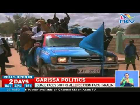 Adan Duale and Farah Maalim face off in Garissa township